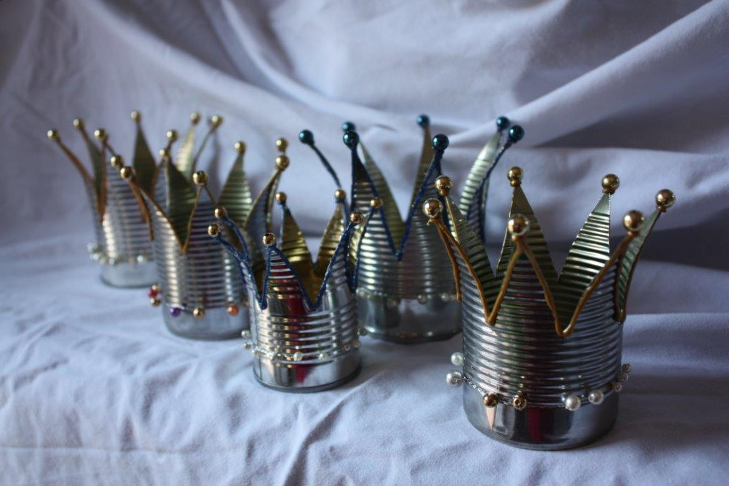 Small Tin Crowns